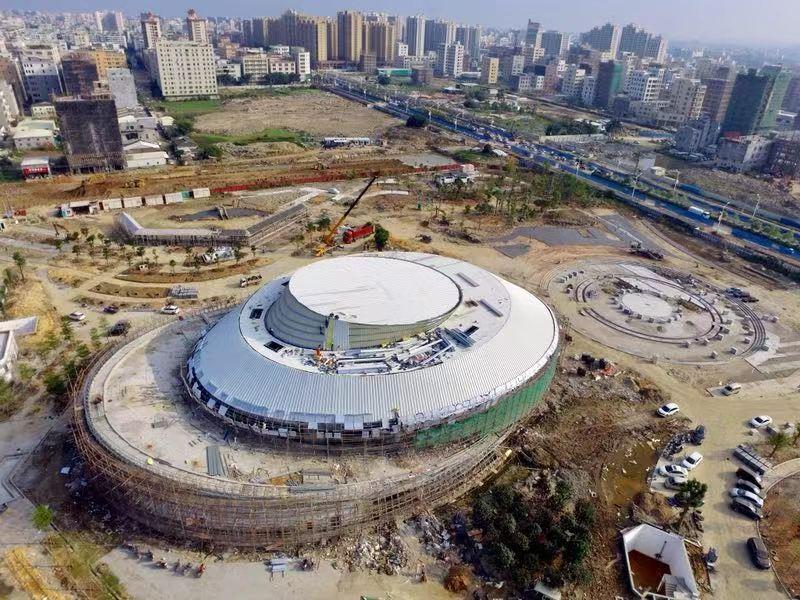 澄海奥飞市民广场、文冠路改造明年春节投入使用