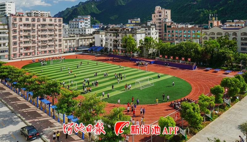 天峨县投入义务教育均衡发展资金近3亿元