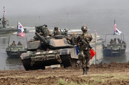 韩美重启海军陆战队演习 朝鲜谴责:违反此前协议