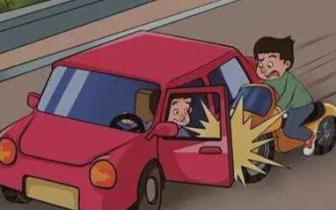 南昌一司机乱开车门致人死亡 被法院一审判处实刑