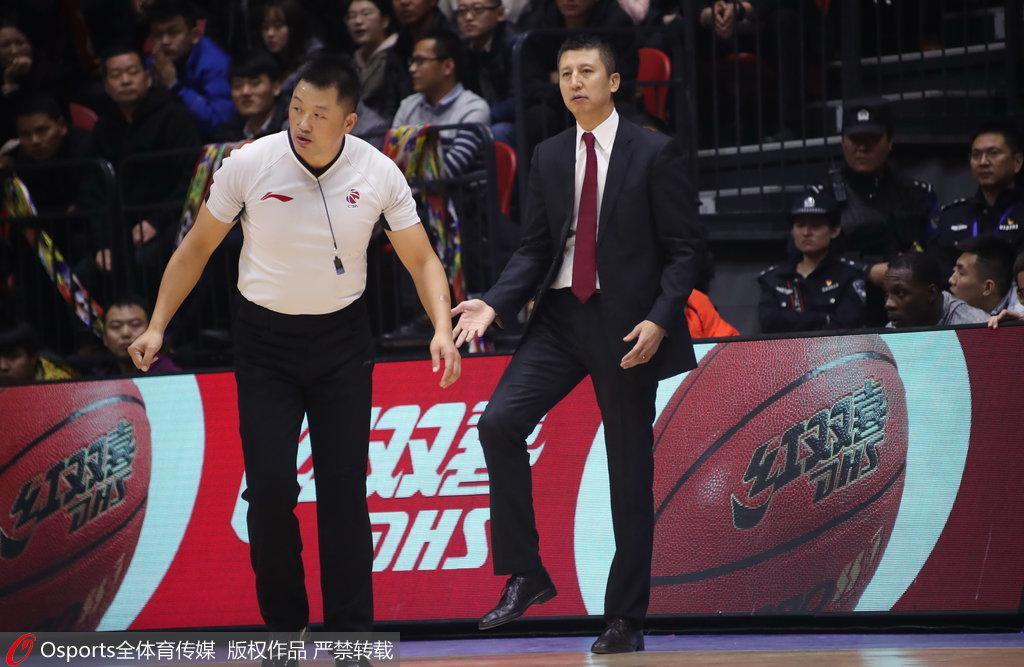 郭士强:打出了辽宁队的精神 本来有希望赢得比赛