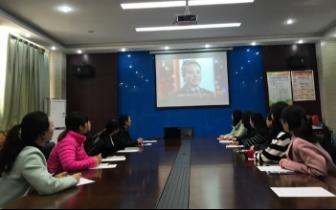 惠济区实验小学组织观看学习《榜样3》专题活动