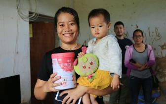 琼中国奶扶贫工程惠及2000多个贫困家庭