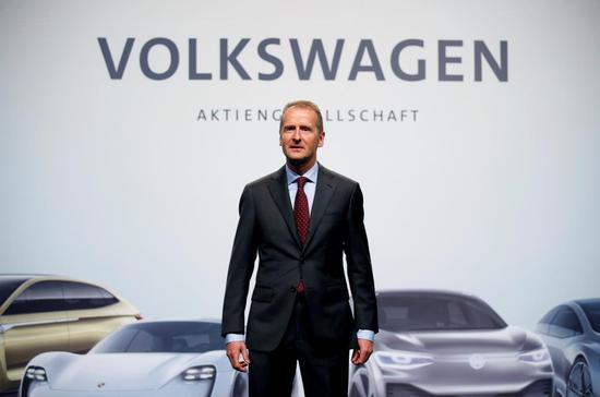 大众CEO:2020年开始将制造5000万辆电动汽车[组图]