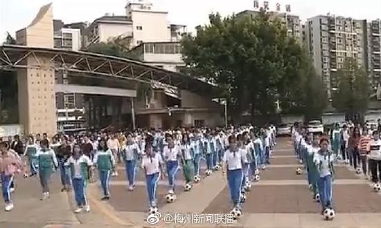 足球之乡全面推广中小学足球舞蹈 82名体育老师接受13天集中培训