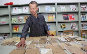 凤山老人坚持读书看报 12年抄录51本笔记80多万字