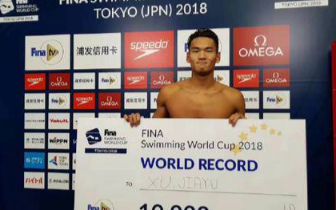 短池游泳世界杯浙江泳军再放异彩 徐嘉余破世界纪录的背后