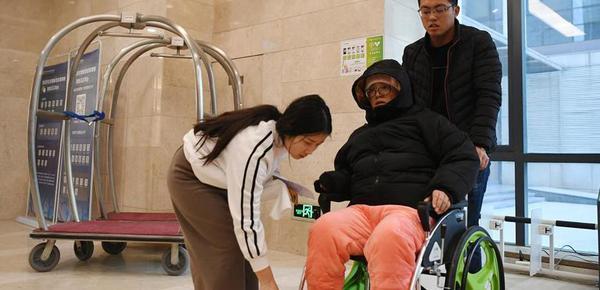 共享轮椅受青睐 每天2小时内免费使用