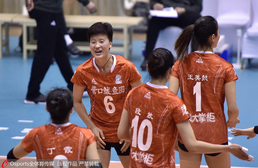 女排超级联赛八强产生 辽宁小组第一北京六连胜