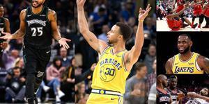 """【影迹】""""对穿""""NBA新赛季球事"""