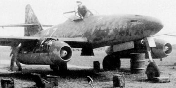 喷气机鼻祖:二战德军262喷气式战斗机