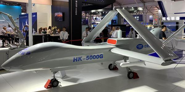 上舰预订?国产舰载无人机HK5000G