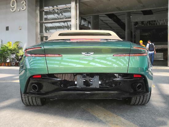 【车展备稿】DB11 Volante 70周年特别版