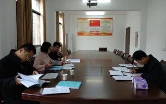 孝南区委宣传部开展区级文明单位创建验收工作