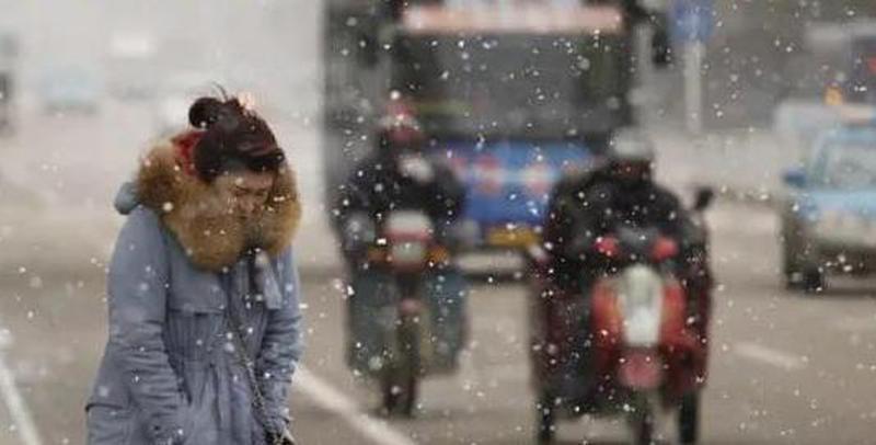 省气象台发布寒潮蓝色预警 降水地区预防结冰