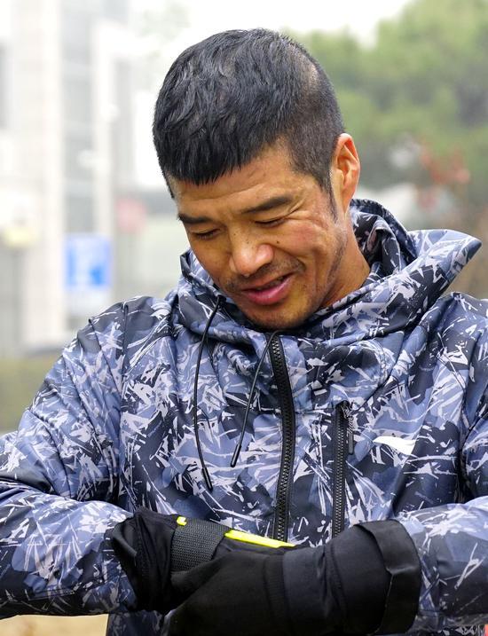 陈盆滨跨界越野滑雪 渴望为国效力征战北京冬奥