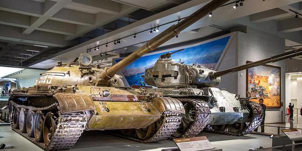 军博珍藏的各国坦克和装甲车 难得一见