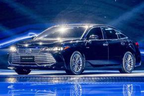 一汽丰田亚洲龙正式首发