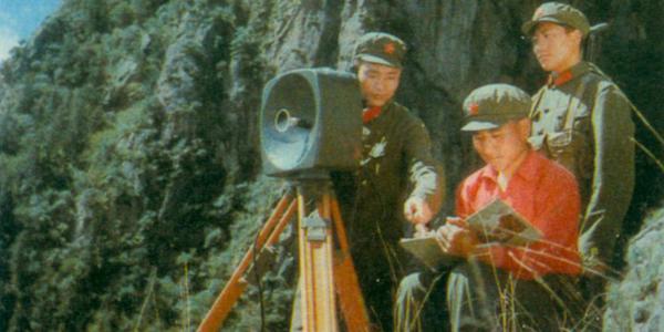 老照片:70年代的解放军部队演习