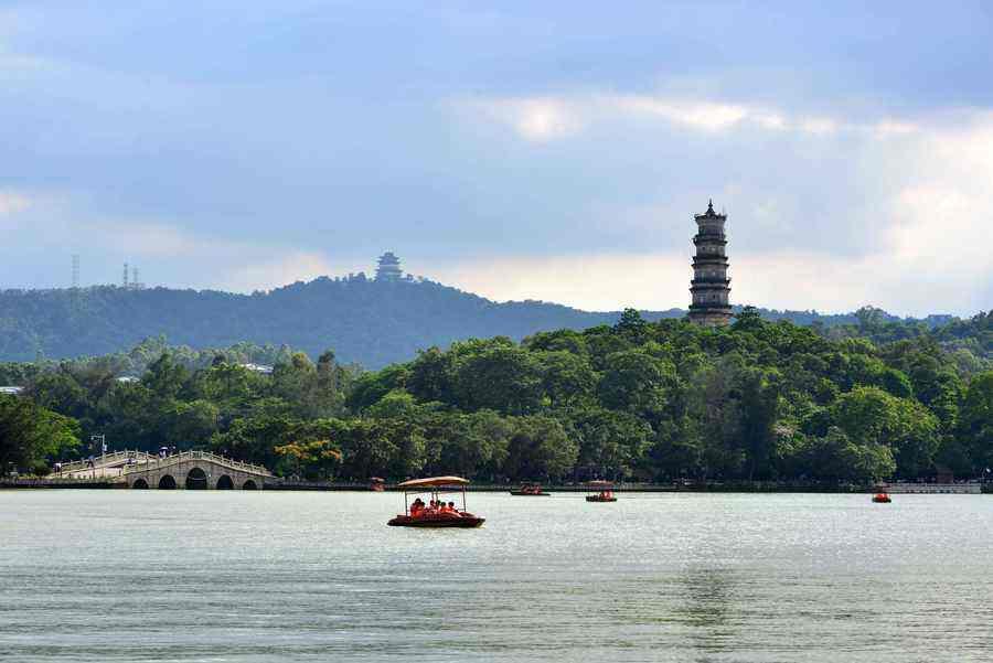 惠州西湖国家5A级旅游景区揭牌