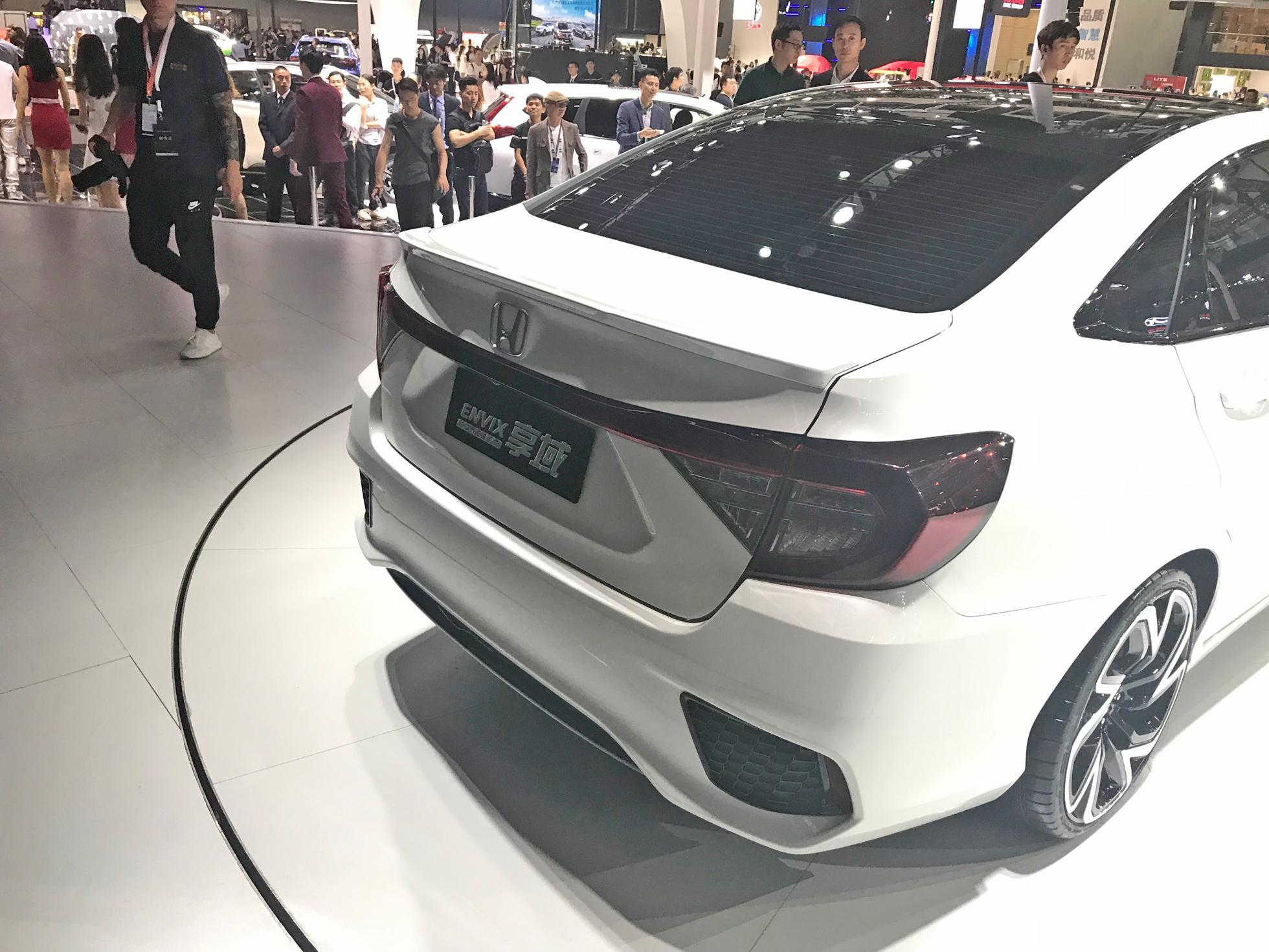 凌派姊妹車型 東風本田全新概念車發布