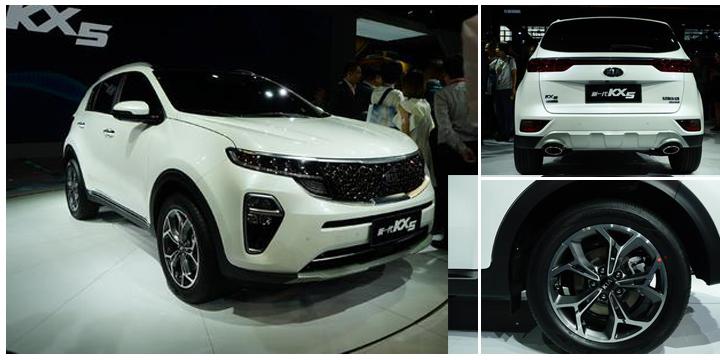 明年一季度上市 新一代起亚KX5亮相
