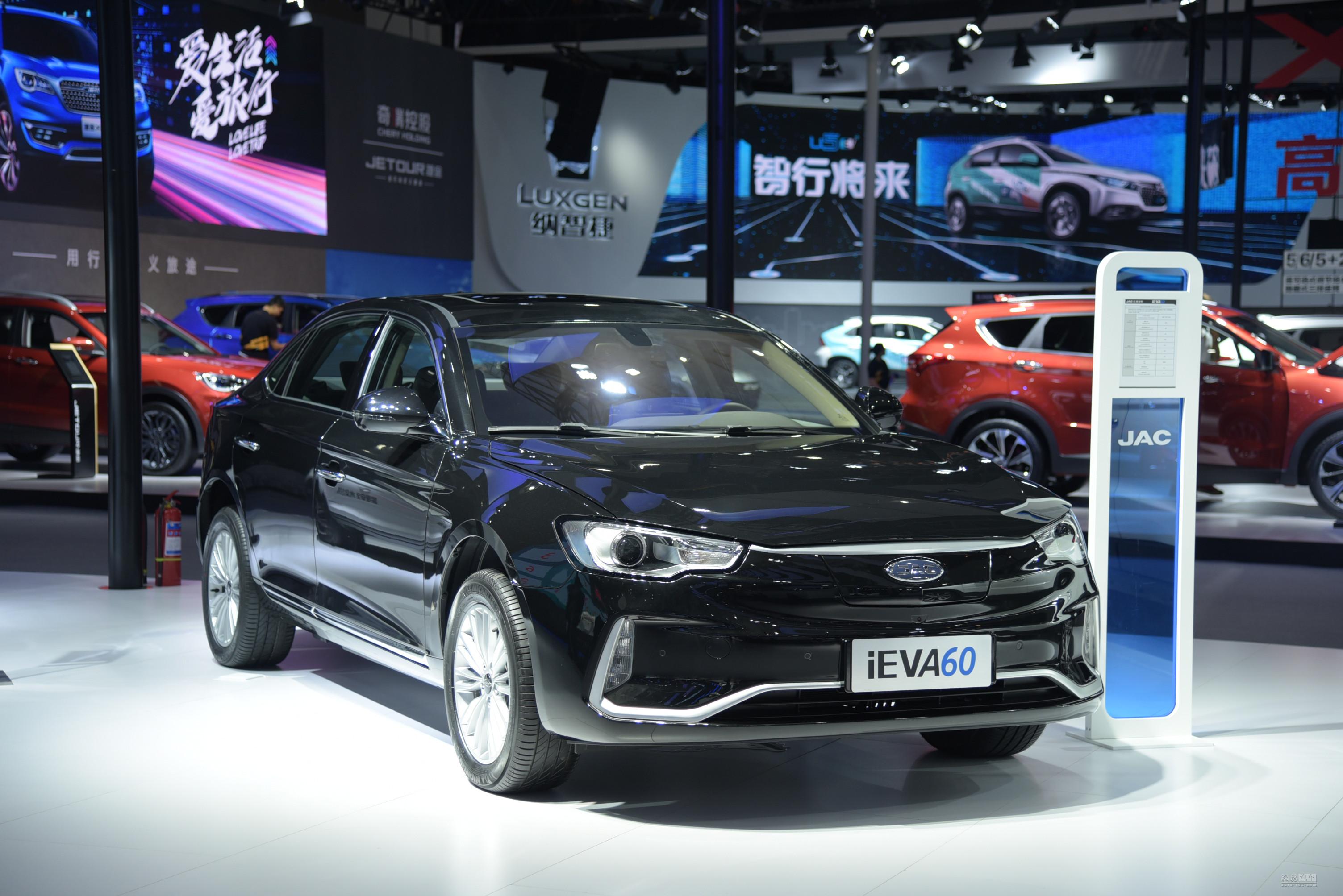 江淮iEVA60正式发布 计划明年二季度上市