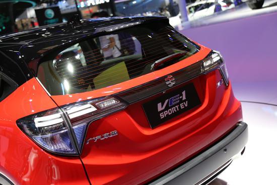 补贴后售17.08万元 理念VE1车展亮相即上市