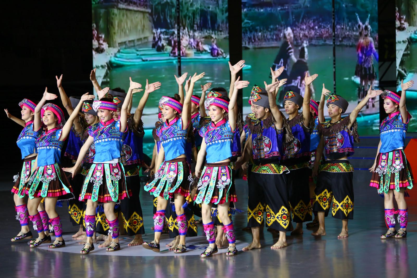 舞动中国排舞联赛总决赛落幕