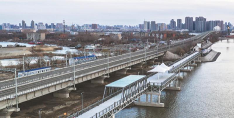 中东铁路公园二期今起开放 可步行直达多景点