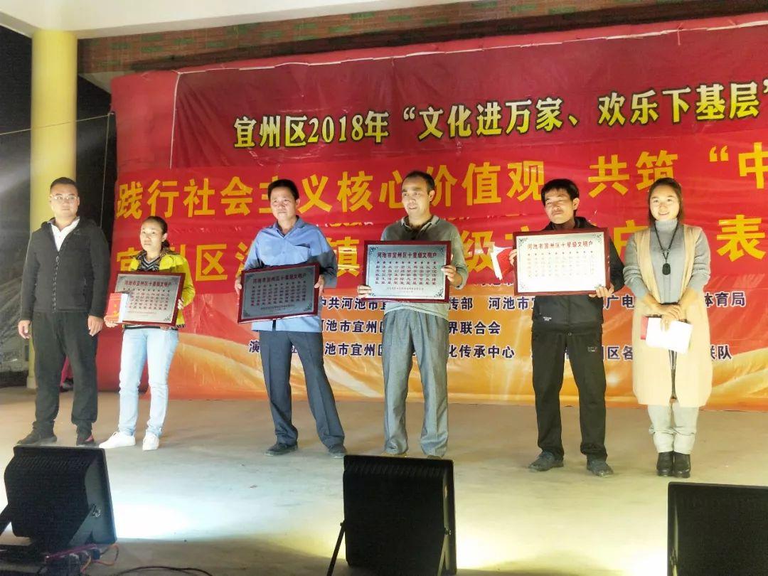 """洛东镇表彰一批2018年度""""星级文明户"""""""
