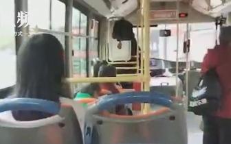 """女子辱骂公交司机半小时 还嚷""""有本事往江里冲!"""""""