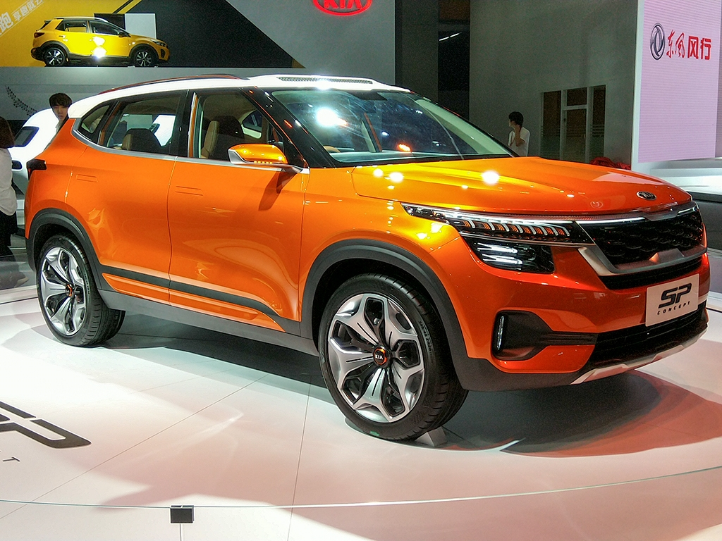 或引入国内投产  起亚SP概念车国内首发