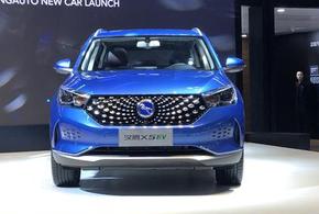 汉腾X5 EV 补贴后售10.98万起