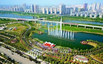 我市推进全域绿化建设美丽孝感