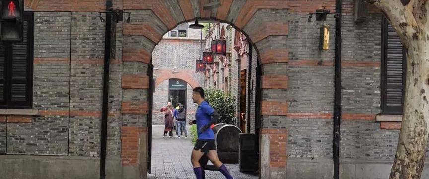 爱上我的马丨2018上海国际马拉松赛道上的秘密
