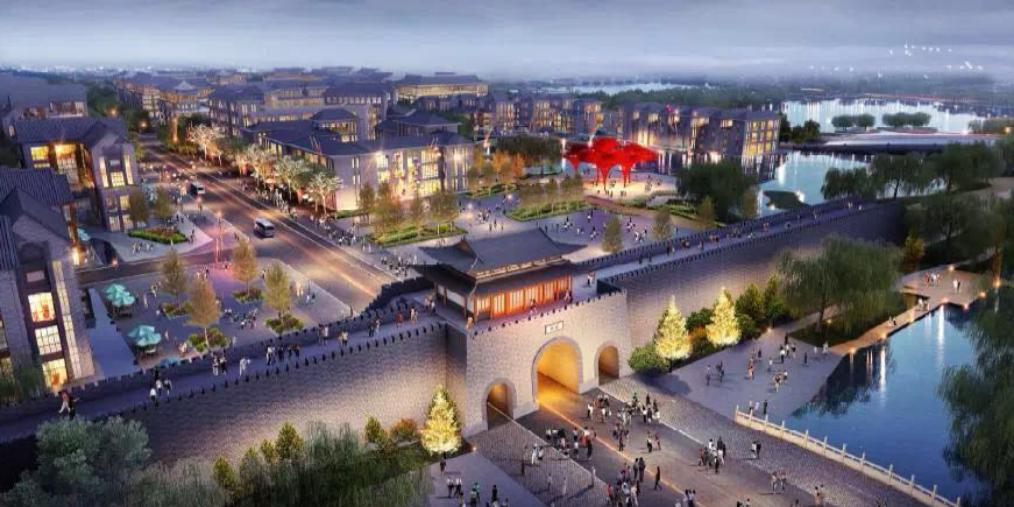 《菏泽市古城区城市设计》发布投资130亿热点图片