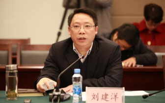 刘建洋到施工现场 调研南昌城建口项目施工进展