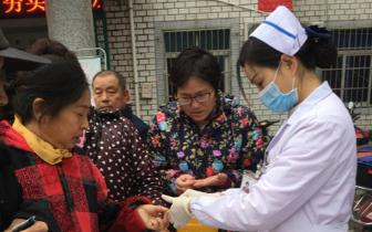 孝感市第二人民医院开展糖尿病日宣传活动