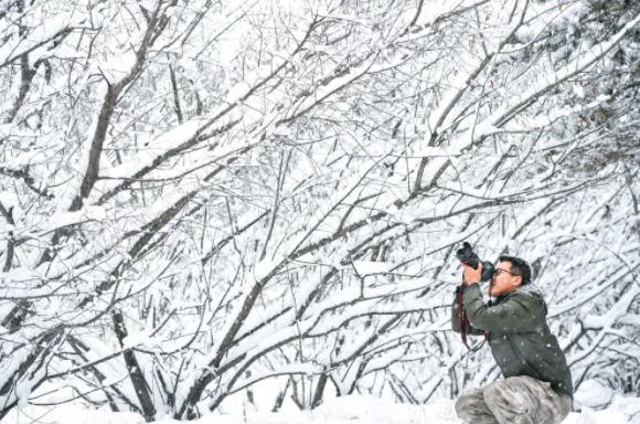 别说你不会拍大片,来雪中固原就对了!