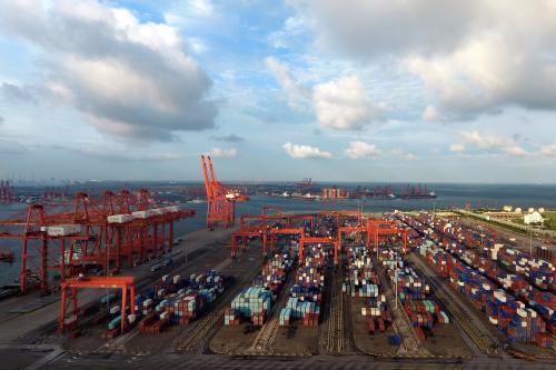 唐山港1-10月份完成货物吞吐量51559万吨