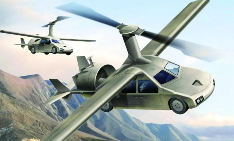 日本拟明年完成空中飞行汽车试制机 2020年投入应用