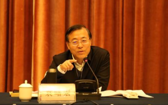 司法部副部长袁曙宏在赣调研 尹建业陪同