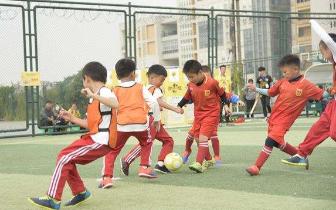 杭州首家校园足球 幼儿实验基地授牌