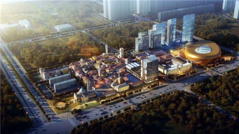 淄博黄金城营销中心预计12月份开放!