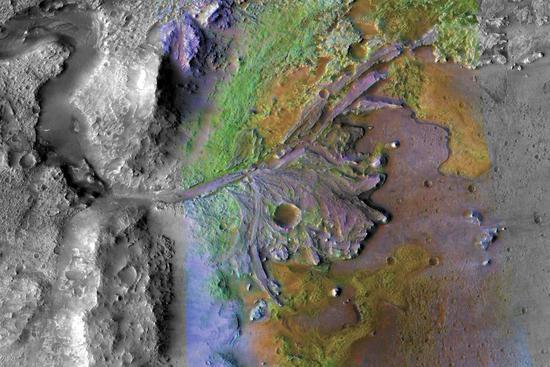 <b>NASA确定2020火星探测任务登陆点 寻找生</b>