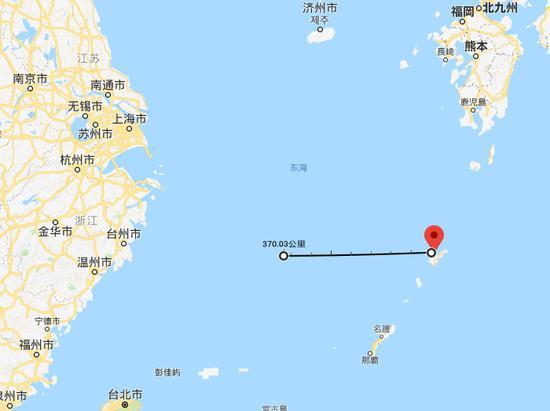 中国渔船在东海沉没5人失联 中日均派飞机搜救