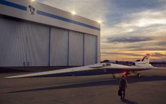 """NASA委派""""臭鼬工厂""""研制X-59超音速静音试验机"""