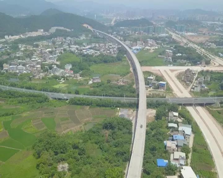 梅县区高铁拆迁安置区规划公示 安置近百户村民
