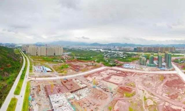 奋力打造河源未来城市发展核心